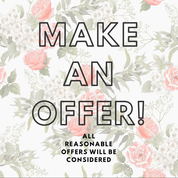 🌸 Make an Offer! 🌸